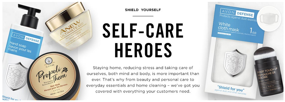 Step Out With Confidence with Avon's Self-Care Heroes